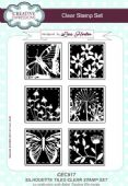 Creative Expressions - Silhouette Tiles A5 Clear Stamp Set - CEC917